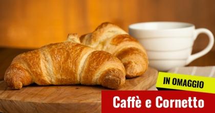 Caff&egrave; e Cornetto<br /> Omaggio